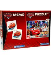 Cars 2 memo en puzzel 60 stukjes