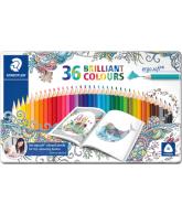 Staedtler ergosoft kleurpotloden 36 stuks