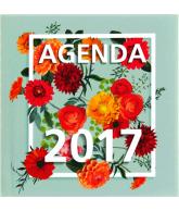Agenda 2017: Square Flowers