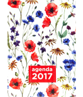 Agenda 2017: Aquarel Flowers