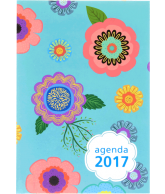 Agenda 2017: Illustration Flowers