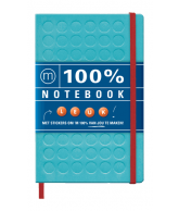 100% Notebook (Large Blue)