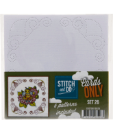 Stitch & Do cards only set 26