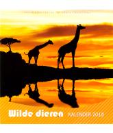 Kalender 2018 wilde dieren