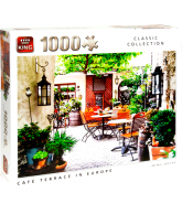 Puzzle Cafe Terrace in Europe (1000 pcs)