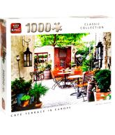 Puzzel Cafe terrace in europe (1000 stukjes)
