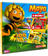 Studio 100 Maja de bij (4 spellen in 1 doos)