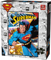 Puzzle Superman Comic (1000 stukjes)