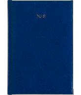 Bureau agenda 2018 lichtblauw