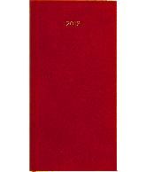 Zakagenda minitimer staand 2018 rood