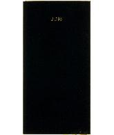 Zakagenda minitimer staand 2018 zwart