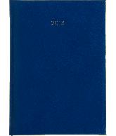 Weekagenda 2018 A5, kleur lichtblauw