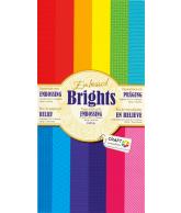 Papierblok 15x30 embossed brights