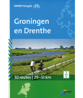 ANWB Fietsgids Groningen en Drenthe