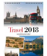 Weekkalender 2018 travel