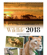 Weekkalender 2018 wildlife