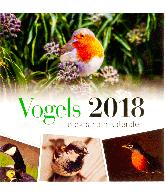 Postkaartenkalender 2018 vogels