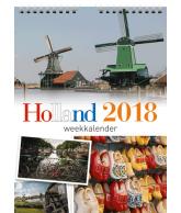 Weekkalender 2018 holland