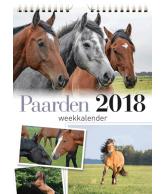 Weekkalender 2018 paarden