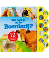 Geluidboek Wat hoor je boerderij?