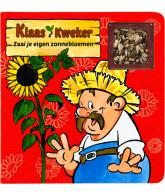 Klaas Kweker - Zaai je eigen zonnebloemen + zaad