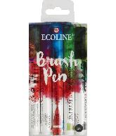 Ecoline brushpen set 5 stuks