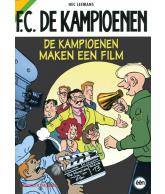 Strip FC De Kampioenen - De kampioenen maken een film