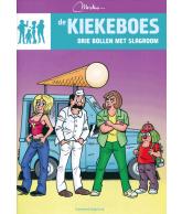 Strip Kiekeboe drie bollen met slagboom