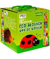 Eco blokken van de natuur