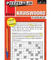 Puzzelblok kruiswoord 4 punt nr 1