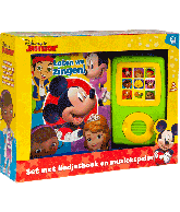 Disney junior boek en muziekspeler
