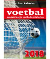 Scheurkalender 2018 voetbal