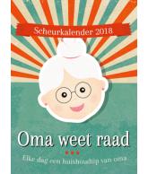 Scheurkalender 2018 oma weet raad