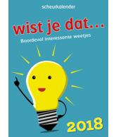 Scheurkalender 2018 wist je dat?