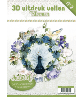 3D Uitdrukvellen boek Kerstcollectie Nummer 2