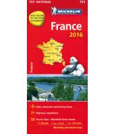 Michelin Wegenkaart 721 Frankrijk
