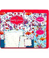 Sticky Notes Family planner bloemen