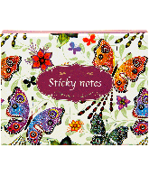 Stickey notes travelpack butterfly
