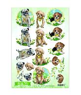 Knipvel sweet pets CD10960-961