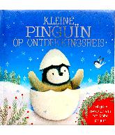 Kleine pinguin op ontdekkingsreis