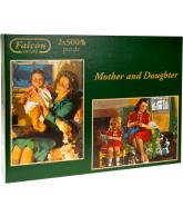 Legpuzzel jumbo 2x500 stukjes moeder en dochter