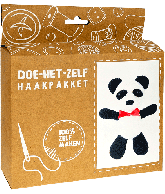 Haakpakket Panda groot
