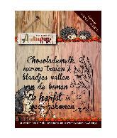 Stempel autumn colors tekst