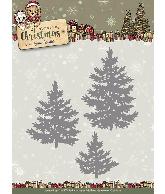 Snijmal oine trees Celebrating Christmas