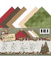 Linnenkarton A5 Celebrating Christmas
