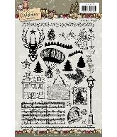 Clearstamp afbeeldingen Celebrating Christmas