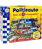 Politieauto boek & 3D puzzel