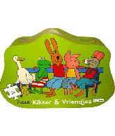 Puzzel Kikker en vriendjes voor altijd