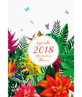 Luxe agenda 2018 Illustration