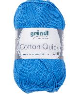 Cotton Quick Uni 126 medium blauw 50gr